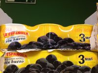 Aceitunas negras sin hueso - Product - es