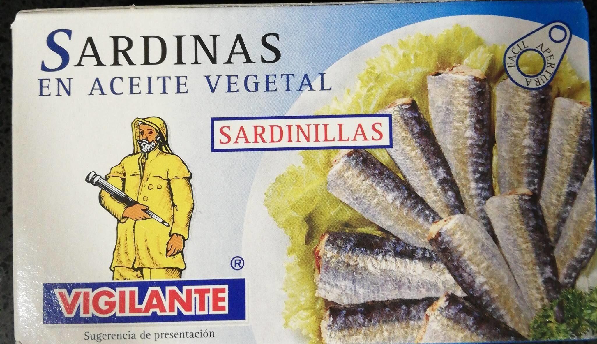 Sardinas en aceite vegetal - Producto