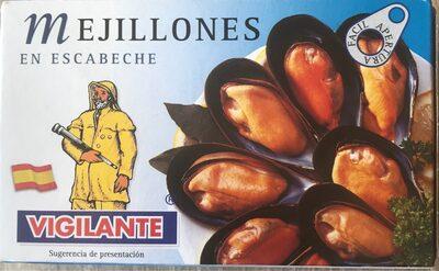 Mejillones en escabeche - Produit - fr
