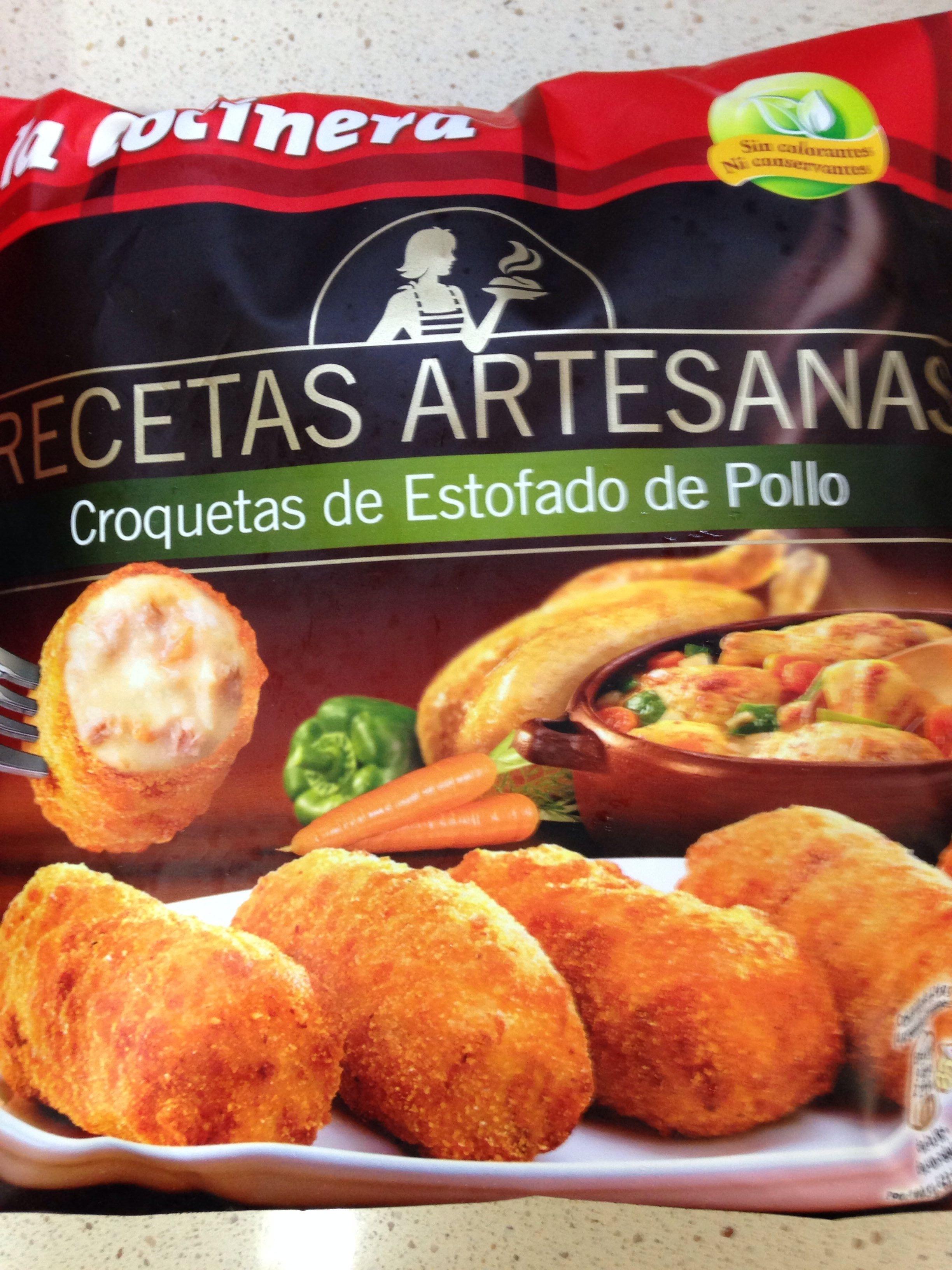 Croquetas estofado de pollo - Product