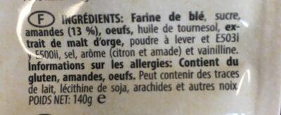 Rosegones - Ingredienti - fr