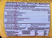 Galletas - Información nutricional - es