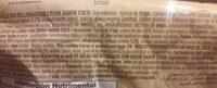 Galletas coco - Ingrediënten - es