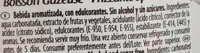 Tinto de Verano Limon Sin Alcohol - Ingredients