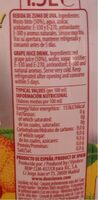 SANGRIA SANFRIA SIN ALCOHOL DON SIMON - Nutrition facts - fr