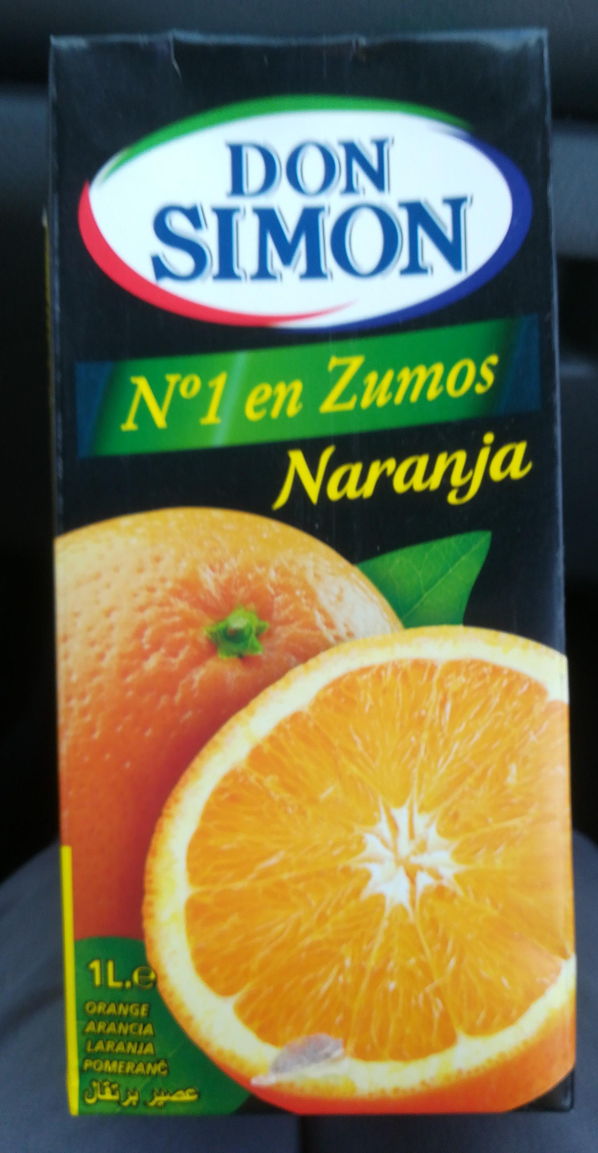 Zumo de naranja enriquecido con vitamina C - Produit - fr