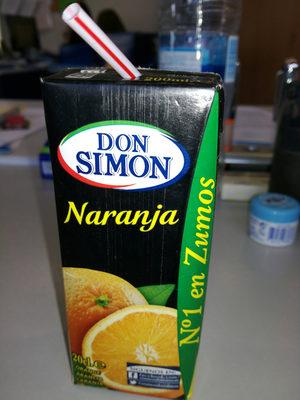 Zumo naranja - Producte