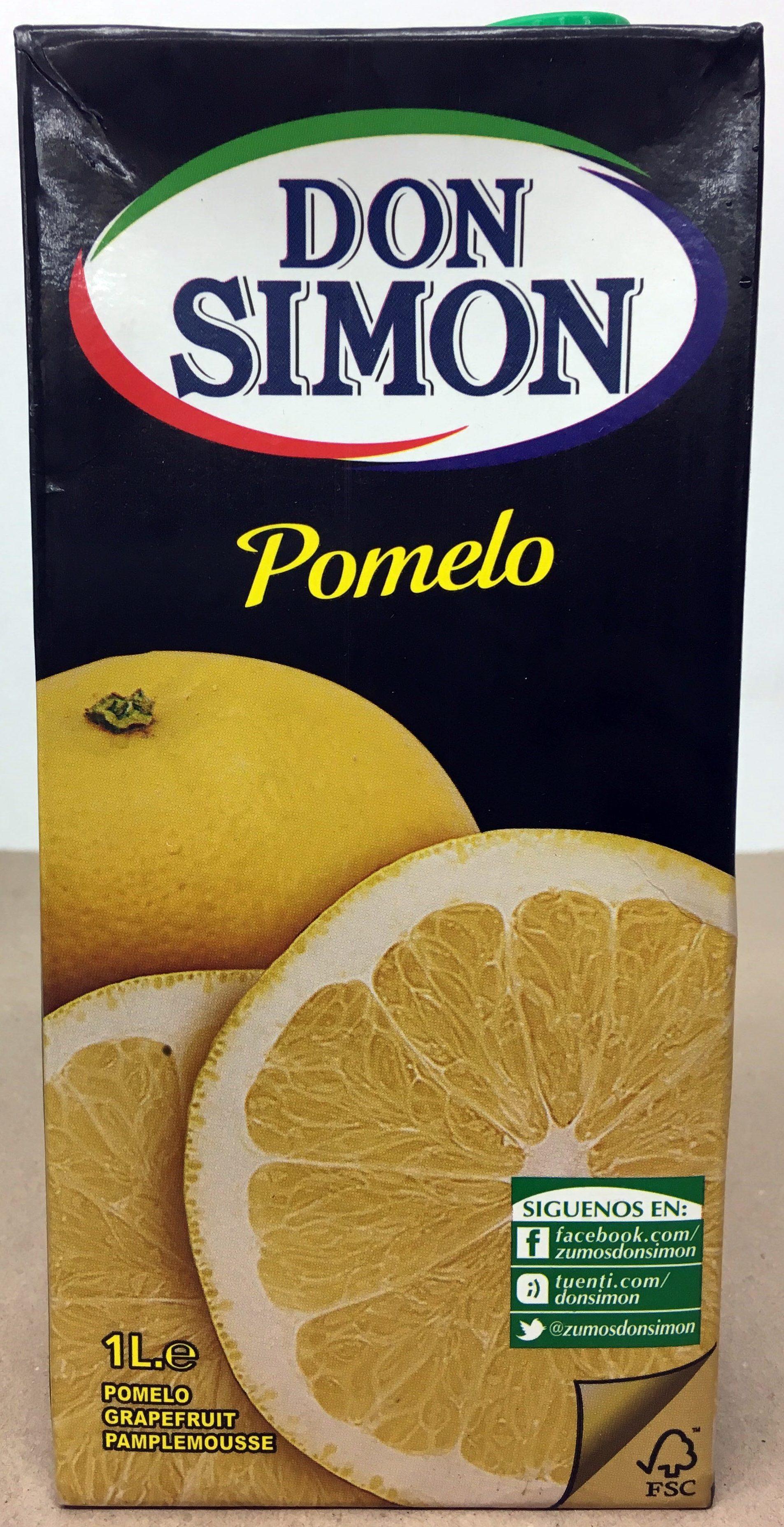 Néctar de Pomelo - Produit - fr