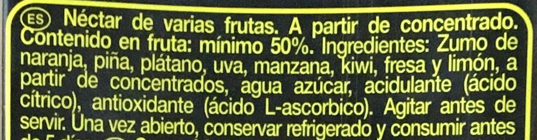 Don simon Multifrutas - Ingredients - es
