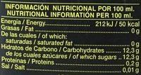 Don simon - Información nutricional