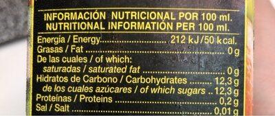 Don simon Multifrutas - Nutrition facts - es