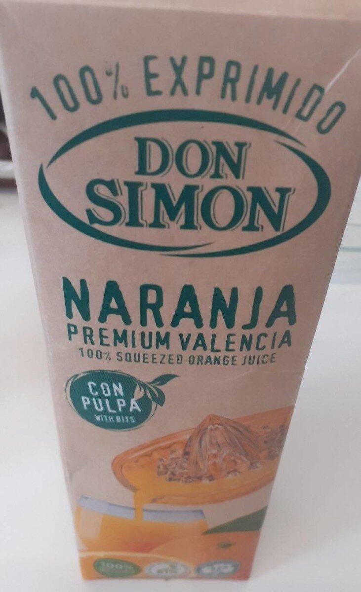 Naranja 100% exprimido - Producto - es