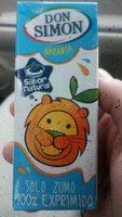 Solo Zumo 100% Exprimido sabor Naranja - Producte