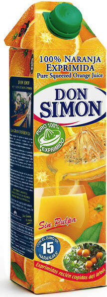 Don Simón Zumo De Naranja  Sin Pulpa - Produit - es