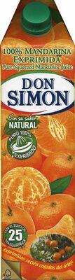 Zumo de mandarina exprimida - Product - es