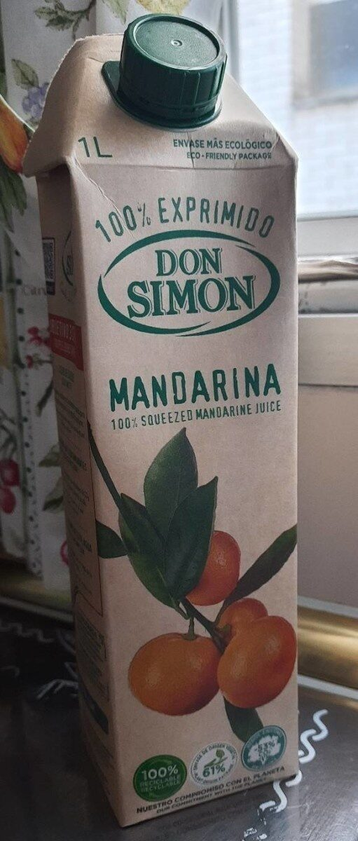Zumo mandarina 100% exprimido - Producto - es