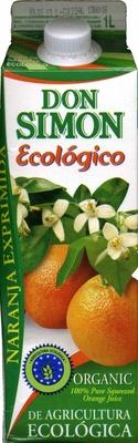 Zumo de naranja exprimida ecológico - Producto