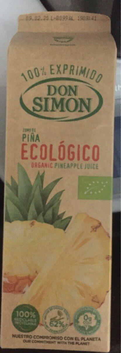 Zumo de Piña Ecológico - Produit - es