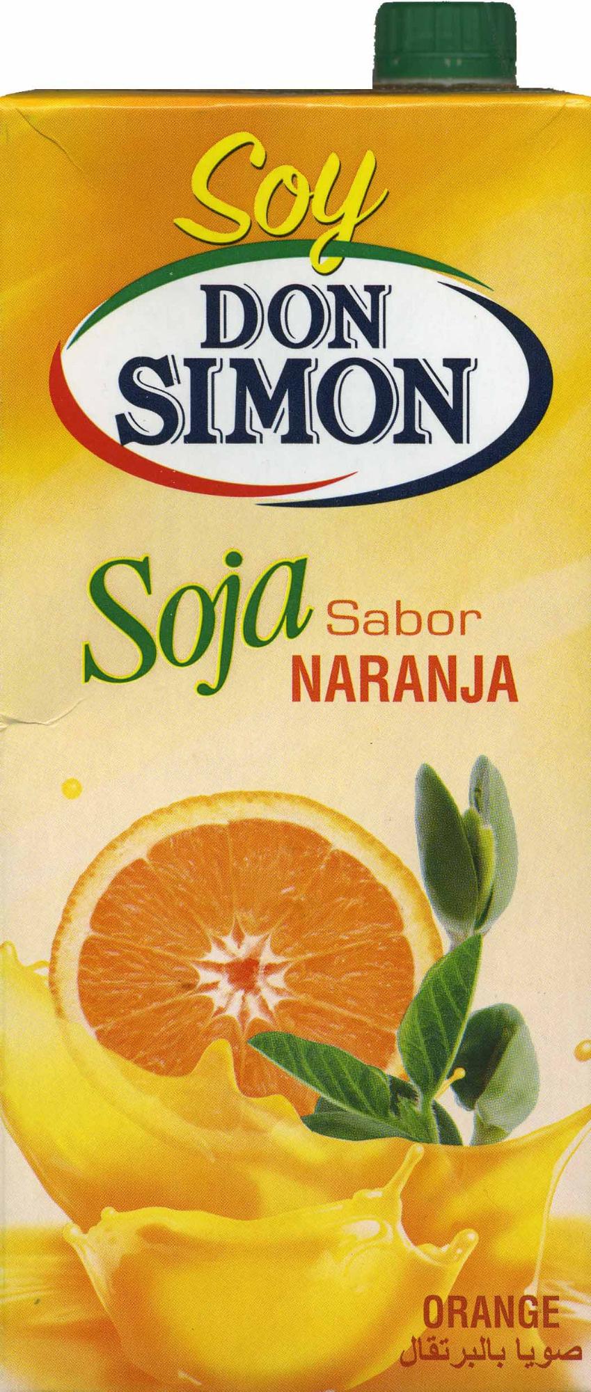 Soy Don Simón Soja Naranja - Producto