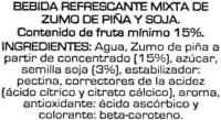 soy don simon - Ingredients