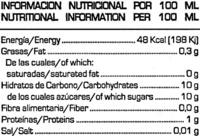 soy don simon - Informació nutricional