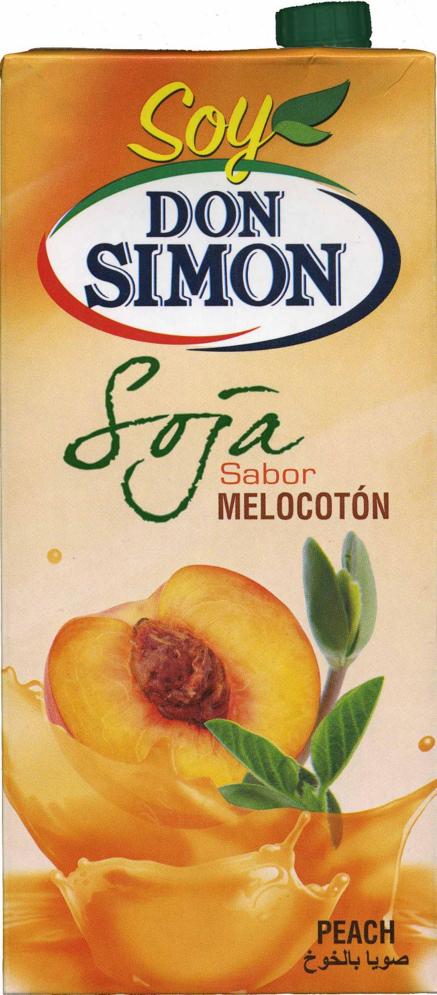 Soja sabor melocoton - Producto - es
