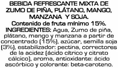Soy Don Simón multifruta - Ingredients