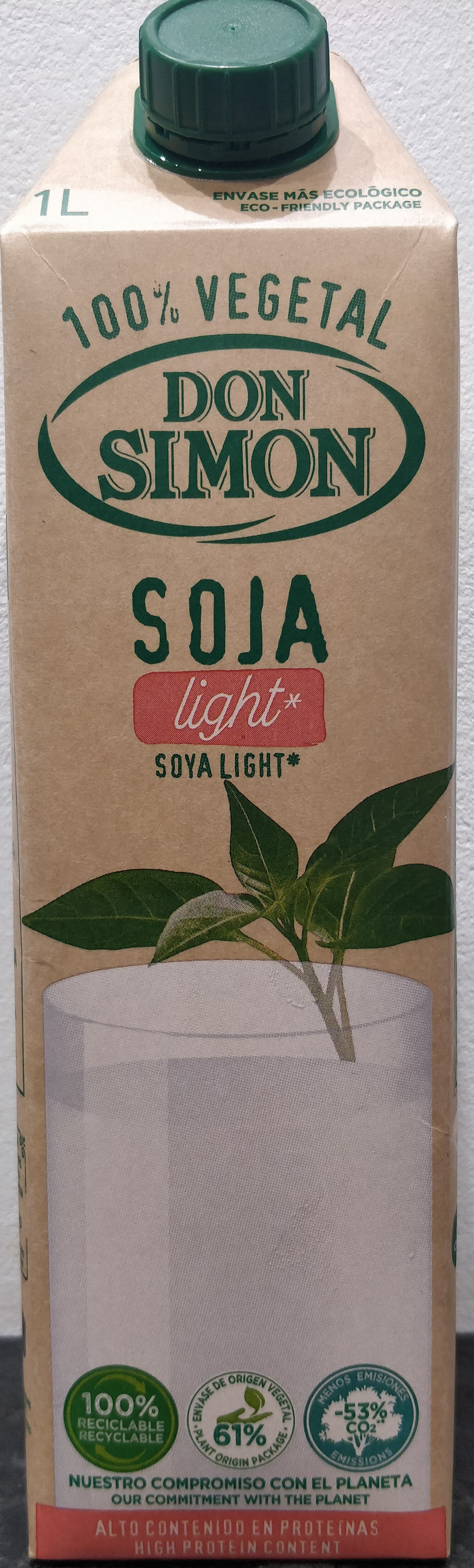 Soy Don Simón Soja Light - Ingredients - es