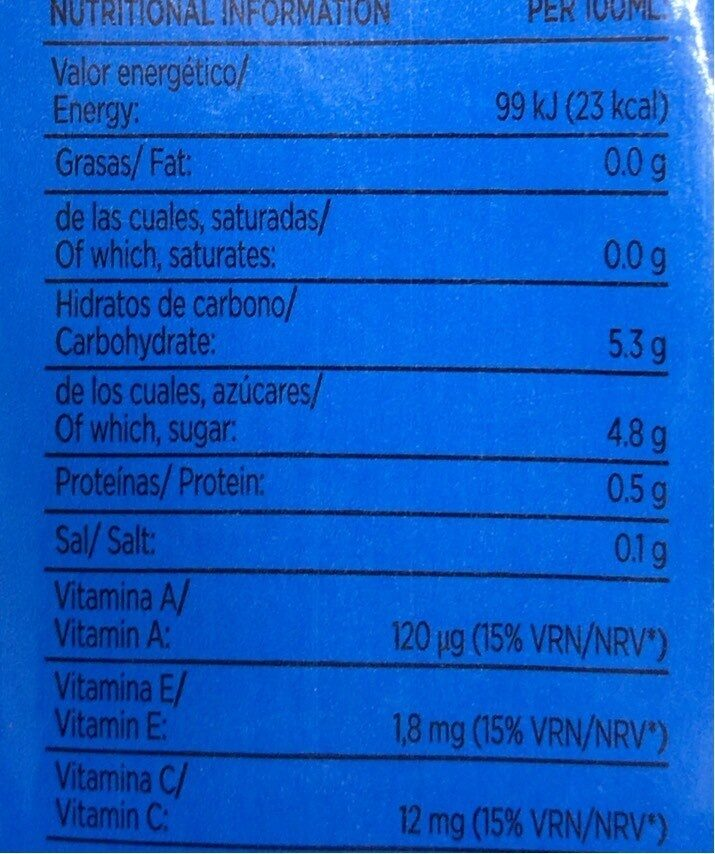 Funciona Max Caribe Don Simon 1L - Nutrition facts - es