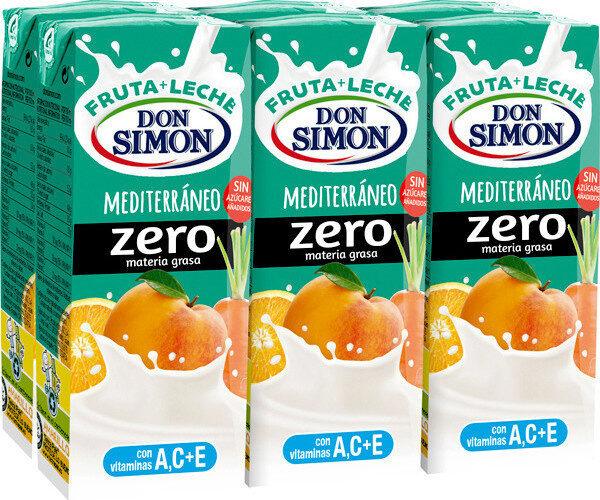 Mediterráneo zero materia grasa fruta + leche - Product - en