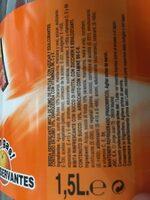 Bebida de zumo de naranja sin gas sin gluten - Producto