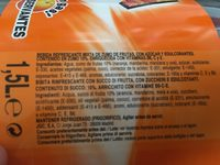 Bebida de zumo de naranja sin gas sin gluten - Ingredientes