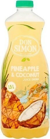 Pineapple & Coconut Juice Drink - Produit - fr