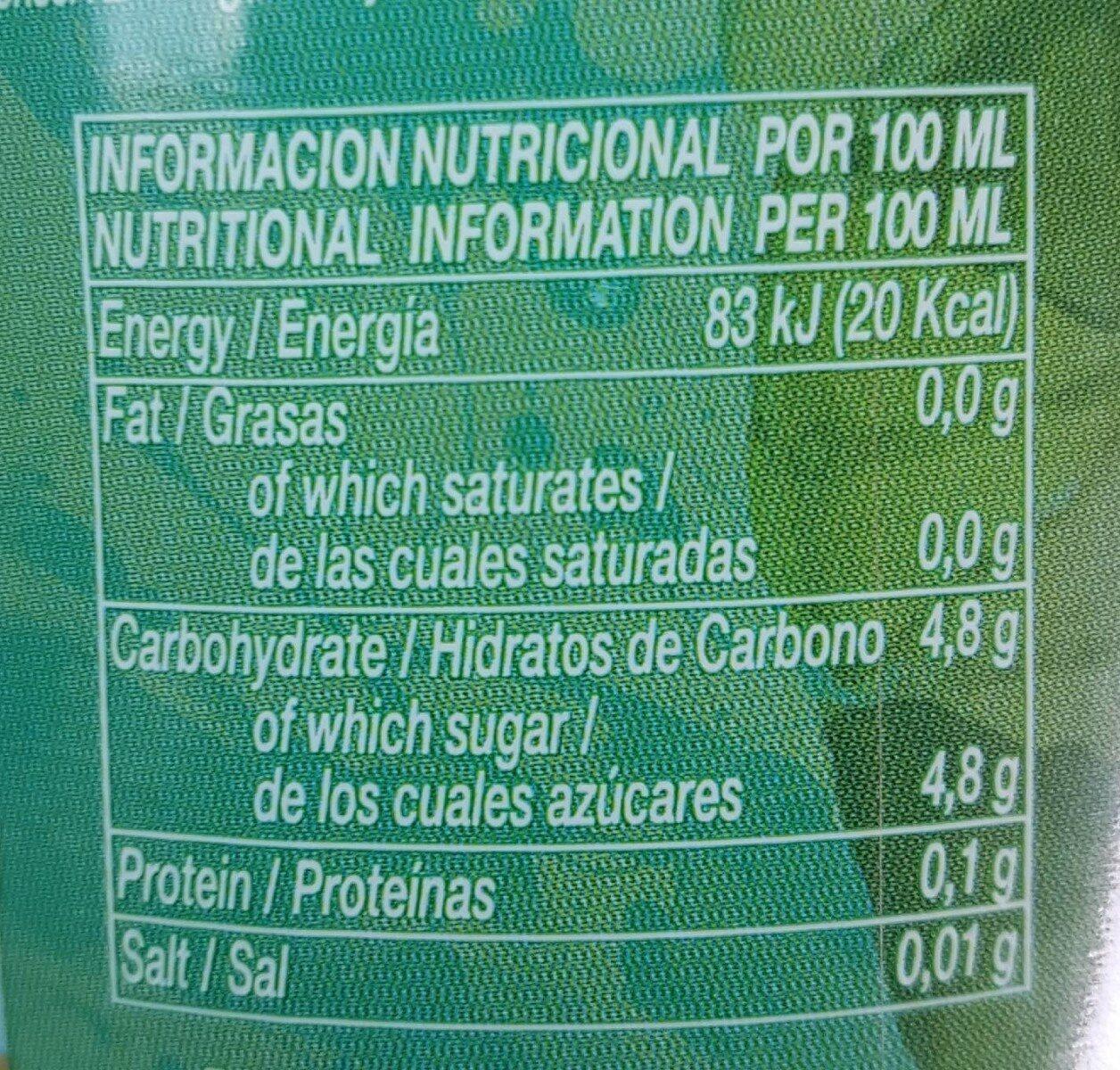Pineapple & Coconut Juice Drink - Informations nutritionnelles - fr