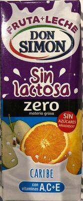 Fruta + Leche sin lactosa - Product - es
