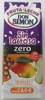 Bebida tropical sin lactosa - Produit - es
