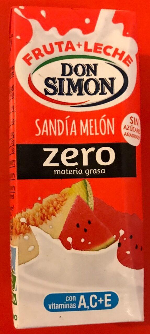 Sandía Melón Zero - Producto - fr