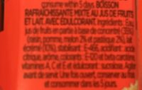 Sandía Melón Zero - Ingredientes - fr