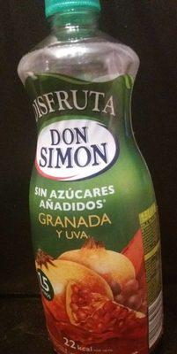 Granada y uva sin azúcares añadidos - Product
