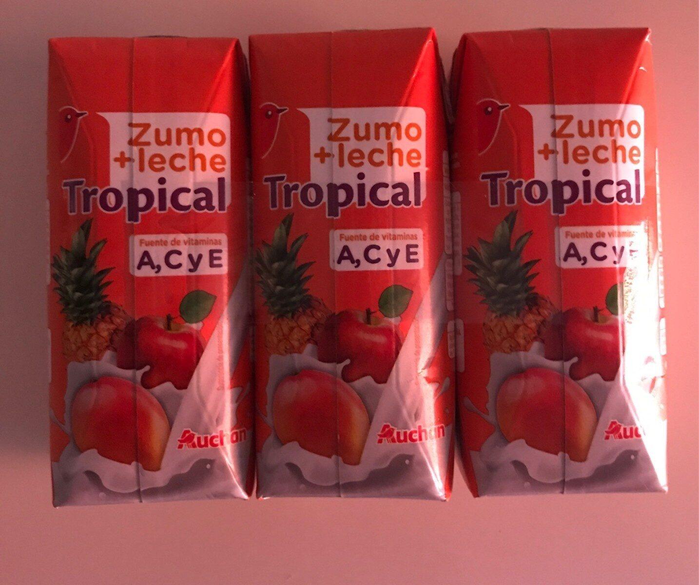 Zumo + Leche Tropical - Producto