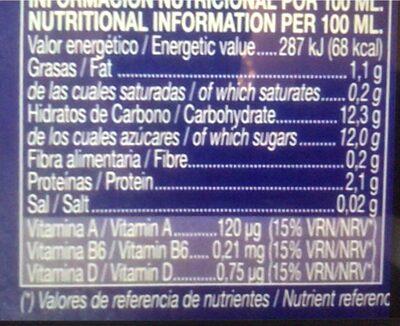 Activ Soja - Nutrition facts - es