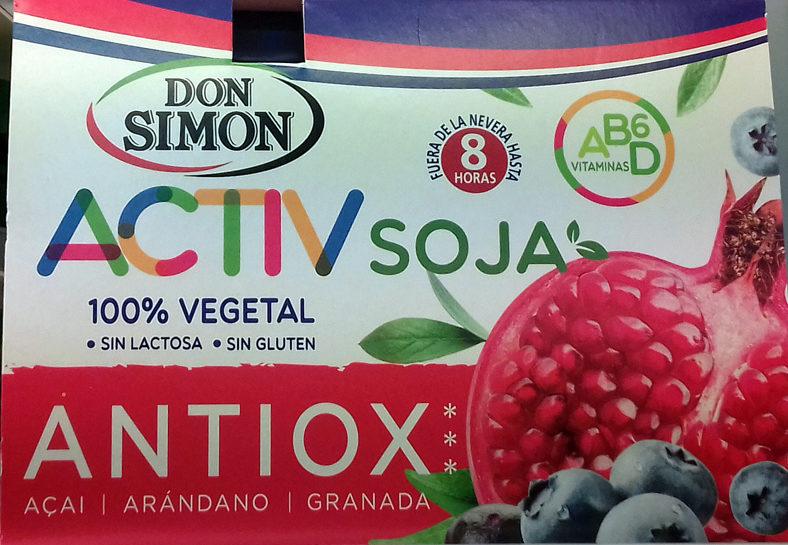 Activ soja antiox - Producto - es