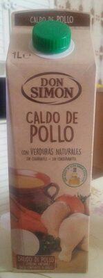 Caldo de pollo Don Simón - Produit - es
