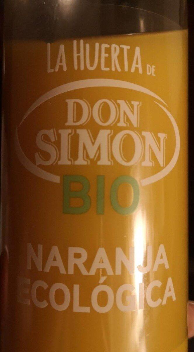 Zumo de naranja ecológico - Produit - es