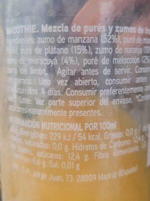 Cargando… - Wartości odżywcze - es