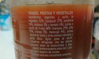 Veggie - Ingredients