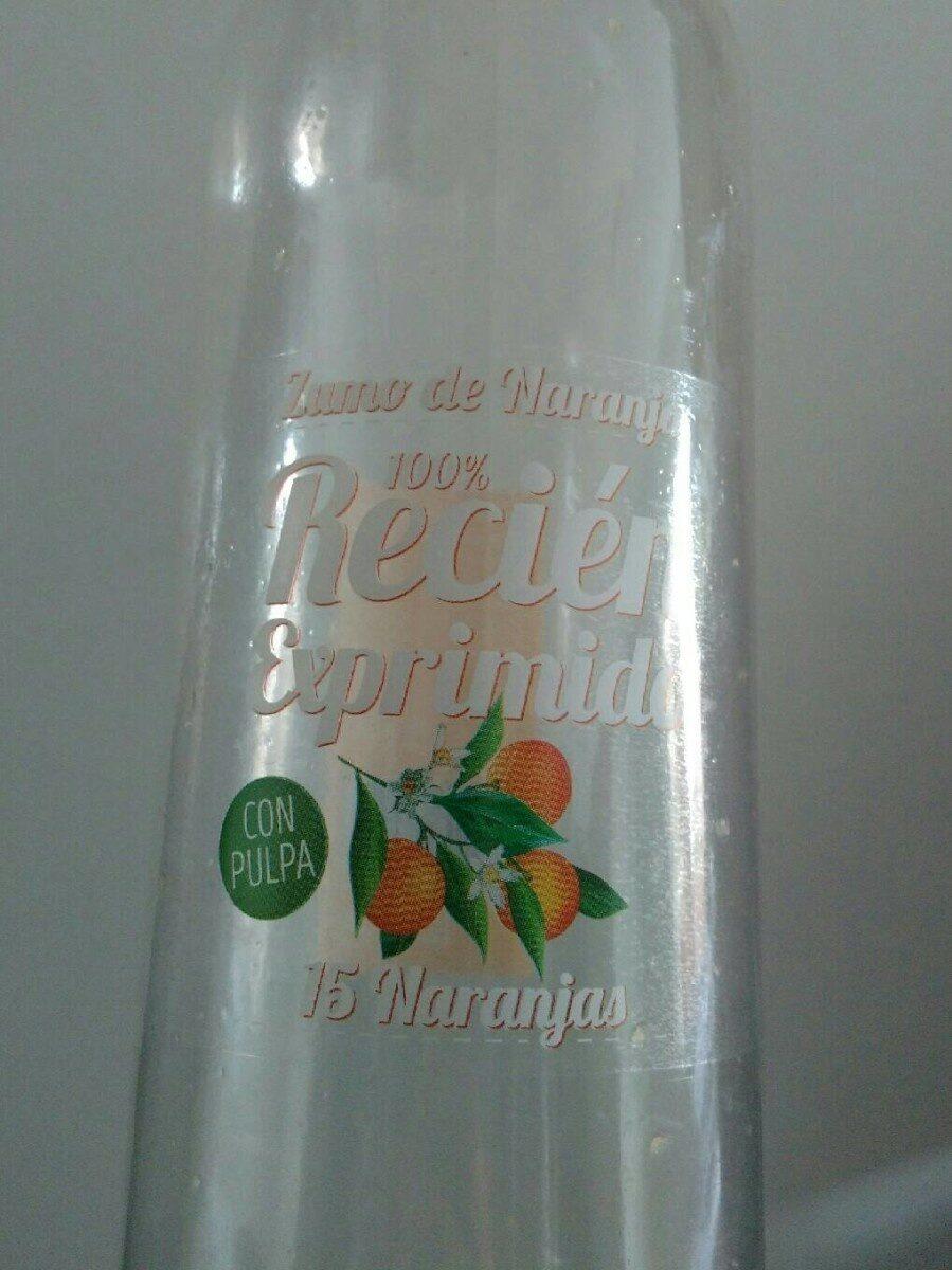 Zumo de naranja, con pulpa - Produit - es