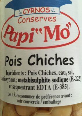 Pois chiche - Ingrediënten
