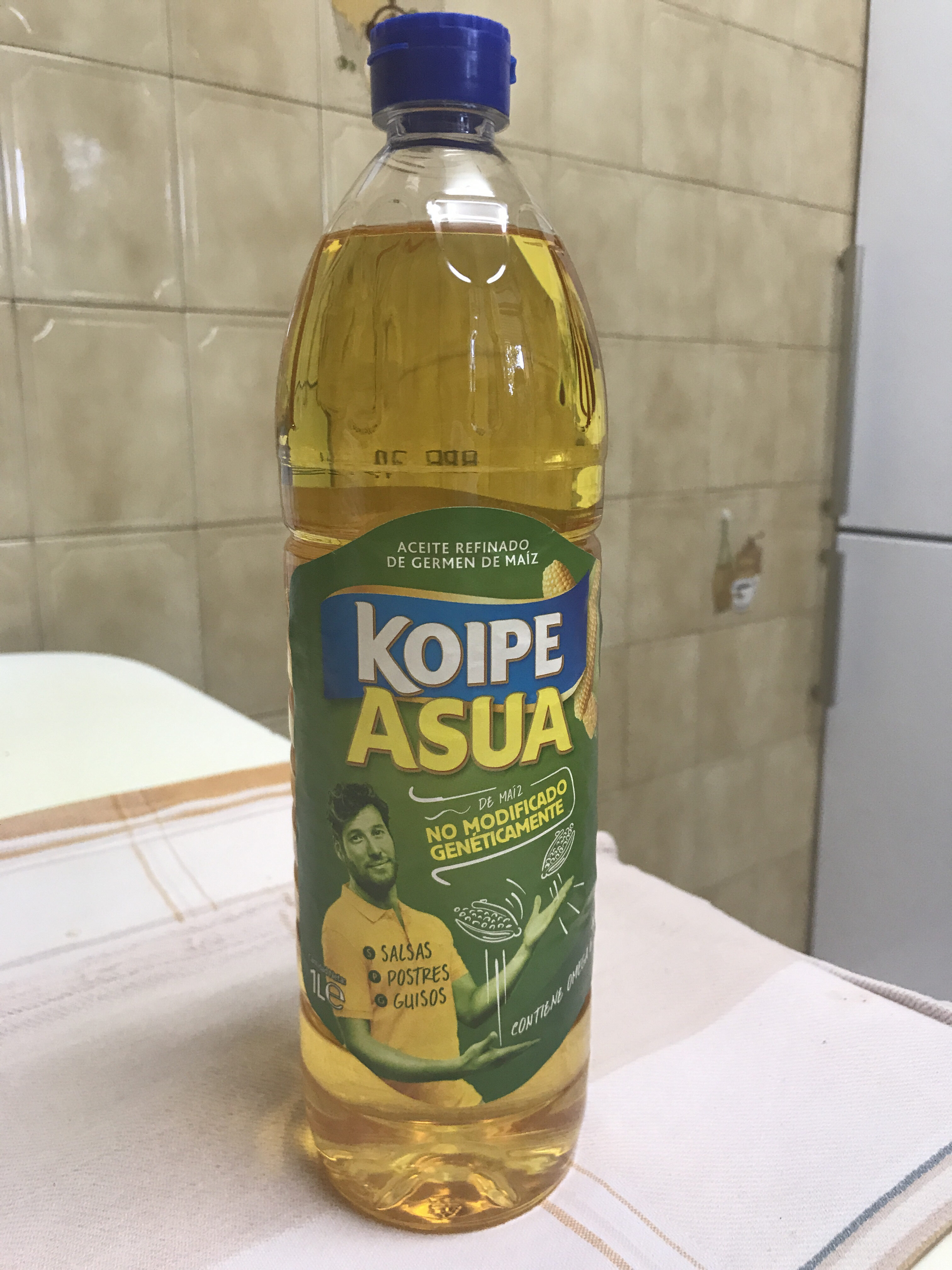 Aceite de maíz botella 1 l - Producto