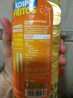 Fritos aceite de girasol especial para freír - Ingredientes